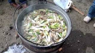 男の料理 芋煮(いも煮) thumbnail