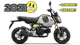 why i HATE the 2021 Honda Grom!