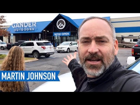 RV Shopping at Gander Outdoors