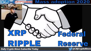 Ripple Labs Gets Non Prosecution Agreement..Ripple working with  Federal Reserve. CKJ Crypto News