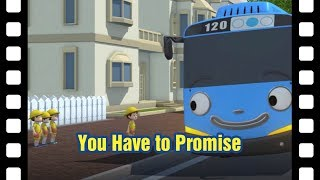 Tayo You have to promise! l 📽 Tayo's Little Theater #36 l Tayo the Little Bus