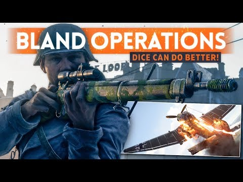 GRAND OPERATIONS ISN'T VERY GOOD... Battlefield 5 (DICE Can Do Better!) thumbnail