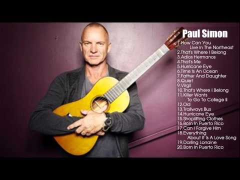 Paul Simon Greatest Hits 2014 || Best Songs Of  Paul Simon [Full Album]