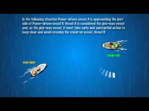 Two Power-Driven Vessels: Crossing 5.4.3