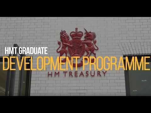 The HM Treasury graduate development programme