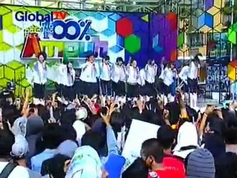 JKT48   Aitakatta @ 100% Ampuh GlobalTV 2012 08 05