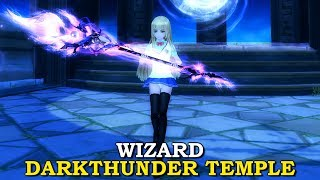 WIZARD DARKTHUNDER TEMPLE SOLO | Aura Kingdom