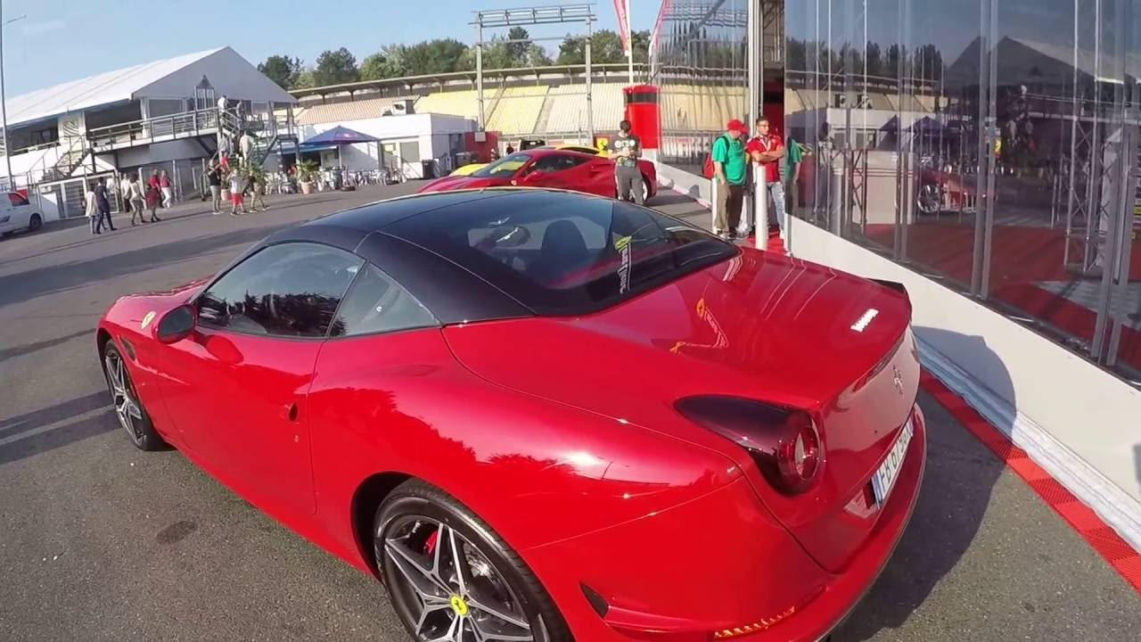 Ferrari California T Coupe Cabriolet Cc Red With Black Roof Youtube