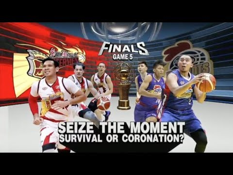 PBA 2018 Philippine Cup Finals Game 5: San Miguel Beer vs. Magnolia Apr. 6, 2018