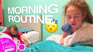 💕👭SCHOOL MORNING ROUTINE - GET READY WITH US!! | Scott and Camber