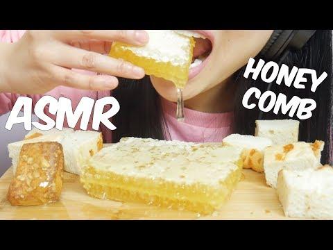 ASMR HONEYCOMB (Extremely STICKY Satisfying EATING SOUNDS) NO TALKING | SAS-ASMR *PART 2*