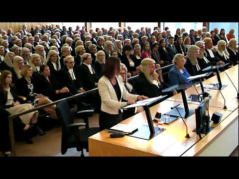 Judicial video – valedictory ceremony for the Hon Justice John H Byrne AO RFD