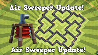 Clash of Clans - (New Update) BEST Town Hall 7 Air Sweeper Farming Base! April 2015