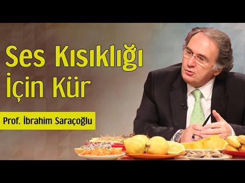 Ses Kısıklığı İçin Kür | Prof. İbrahim Saraçoğlu