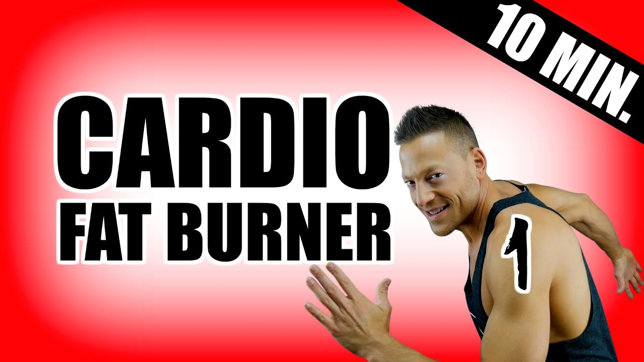 10 minute cardio workout to burn fat part 1 best cardio workout routine to lose belly fat fast youtube
