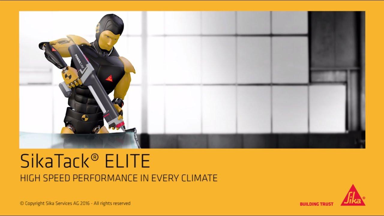 Sikatack 174 Elite The Ultimate Windscreen Adhesive Youtube
