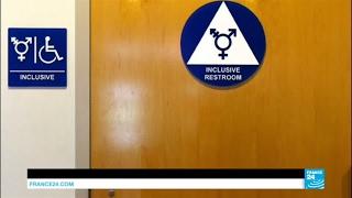 US - President Donald Trump rescinds Obama-era transgender bathroom rules