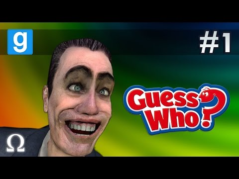 TROLLING FRIENDS, CAN YOU GUESS WHO?! XD | Guess Who #1 Garry's Mod