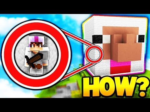 HIDING INSIDE OF ISLAND TOPPER! *EASY WINS* (Minecraft Bed Wars)
