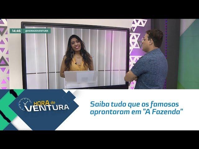 """Saiba tudo que os famosos aprontaram em """"A Fazenda"""" - Bloco 02"""