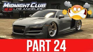 MIDNIGHT CLUB LOS ANGELES XBOX ONE Gameplay Walkthrough Part 24 - THIS GAME BROKE ME
