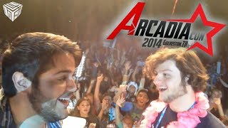 ArcadiaCon 2014 - HAPPY BIRTHDAY JASON! (vLogdotzip: ArcadiaCon Pt 1)