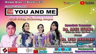 Video LIVE STREAMING CAMPURSARI YOU AND ME (YAM) // BG AUDIO // HVS SRAGEN download MP3, 3GP, MP4, WEBM, AVI, FLV Oktober 2018