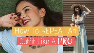How To REPEAT An Outfit Like A PRO!   Komal Pandey