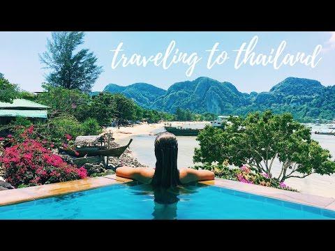 TRAVELING TO THAILAND ~ vlog_1 | Tess Florio