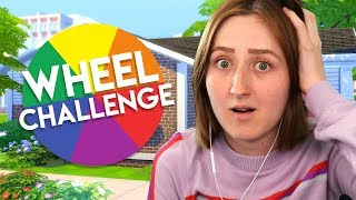 Spinning a Wheel to Decide My Sims Build