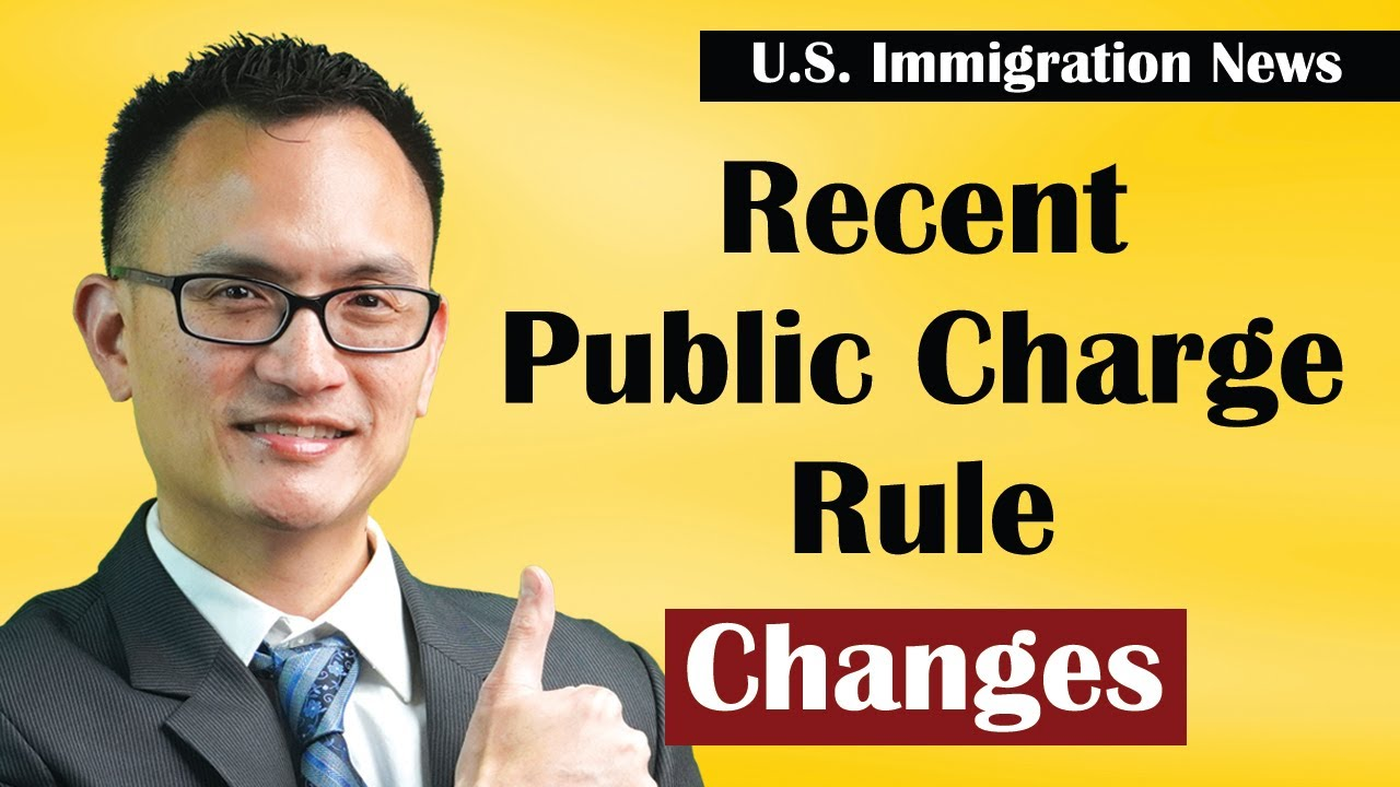 Changes to the Public Charge Rule - No More Form I-944