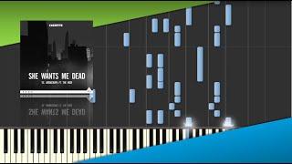 Скачать She Wants Me Dead CAZZETTE Synthesia Piano