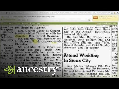 Finding the Maiden Names of Women in Your Family Tree
