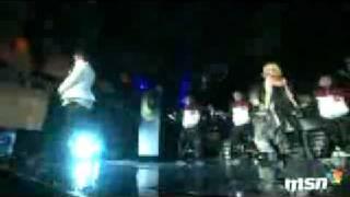 Madonna  & Justin Timberlake -  4 MINUTES LIVE.wmv
