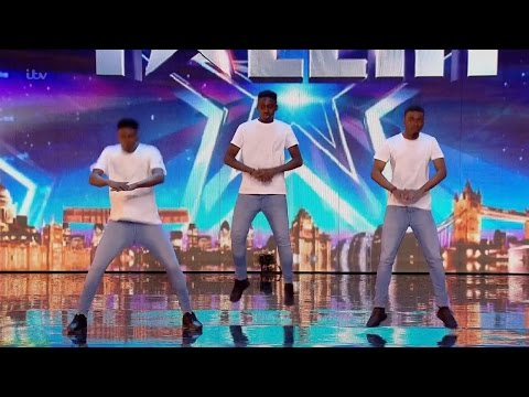 Britain's Got Talent 2016 S10E06 Mythical Ones PSM Parody Dance Trio Full Audition