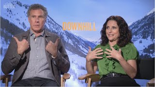 FUNNY!!! Will Ferrell & Julia Louis-Dreyfus talk about meeting for the first time | Downhill
