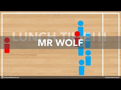 Mr Wolf - Physical Education Game (Chasing & Fleeing)