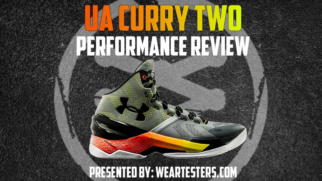 46d74f0d4eb0 Under Armour Curry Two (2) - Performance Review - YouTube