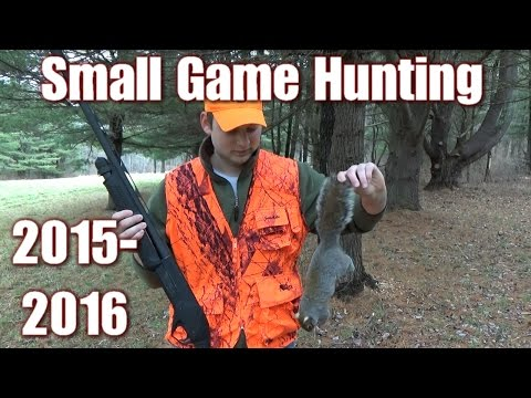 Small Game Squirrel And Rabbit Hunting 2015-2016