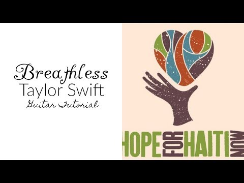 Breathless - Taylor Swift (Better Than Ezra) // Guitar Tutorial