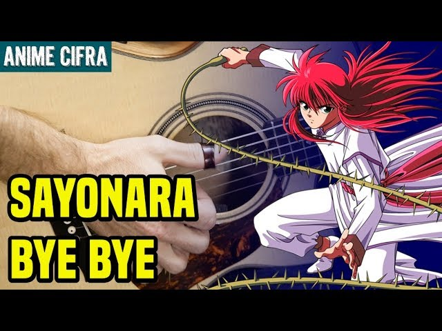 🔴 Como tocar Yu Yu Hakusho - Eu Vou Dizer Adeus (Sayonara Bye Bye) [How to Play]