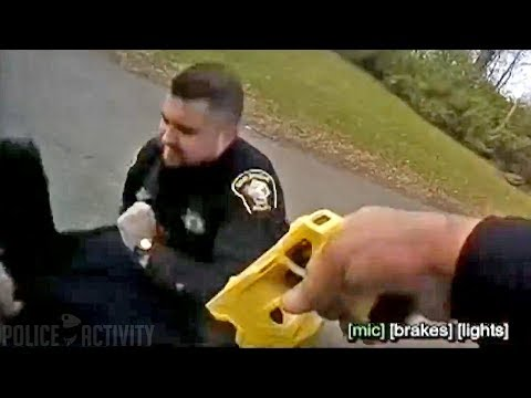 Ohio Cop Accidentally Tases His Partner During Arrest