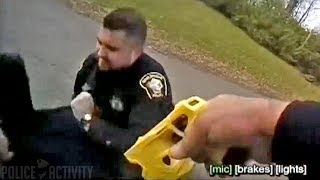 Video Ohio Cop Accidentally Tases His Partner During Arrest download MP3, 3GP, MP4, WEBM, AVI, FLV Januari 2018