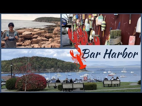 Exploring BAR HARBOR, Maine L Canada And New England Cruise Vlog L Ep. 30