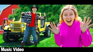 BEHIND THE SCENES of STEPHEN SHARER NEW MUSIC VIDEO!! (In My Jeep Song)