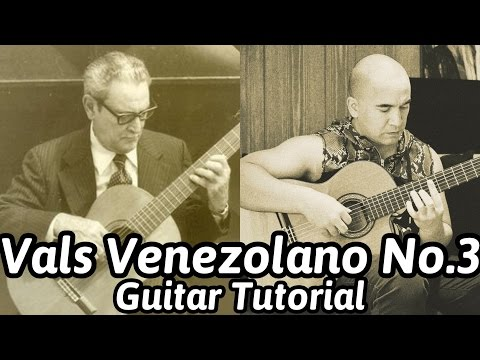 Vals Venezolano No.3 Natalia | Antonio Lauro | Classical Guitar Tutorial | NBN Guitar