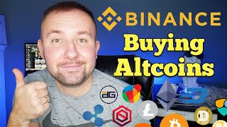 How To Buy Altcoins On Binance.us In Under 5 Min - Full Step By Step Tutorial
