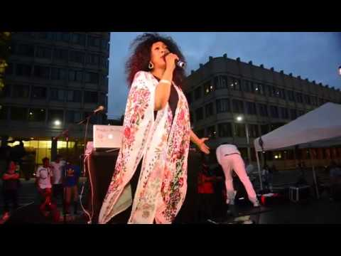 2017 BOSTON DONNA SUMMERS SKATE PARTY GOVERNMENT CENTER