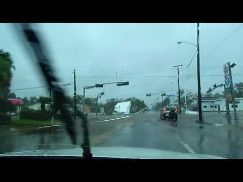 Hurricane Harvey Damage Victoria, Texas