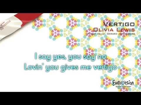 """Olivia Lewis - """"Vertigo"""" (Malta) - [Karaoke version]"""